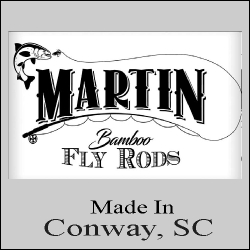 Martin Bambook Fly Rods - will open new window